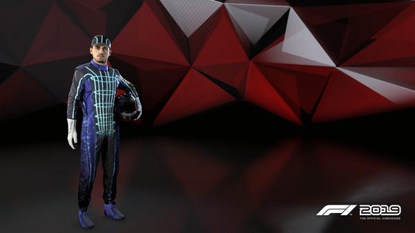 Скриншот №1 к F1 2019 Suit Sci-Fi