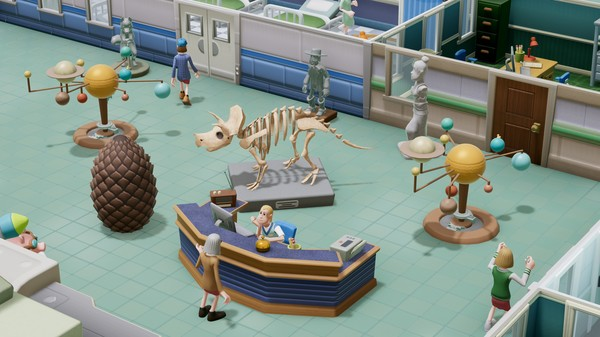 Скриншот №6 к Two Point Hospital Exhibition Items Pack