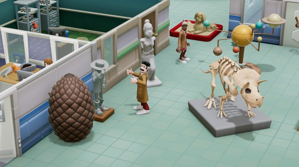 Скриншот №4 к Two Point Hospital Exhibition Items Pack