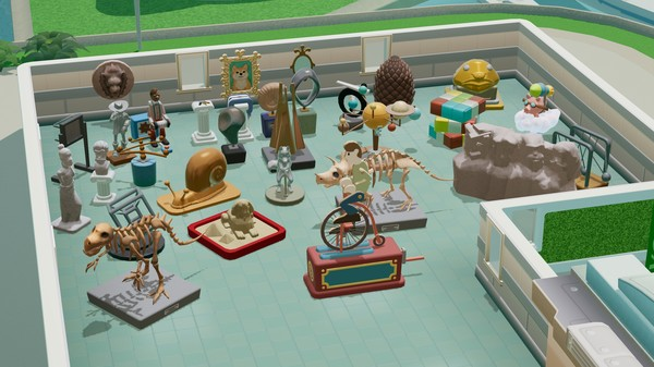 Скриншот №1 к Two Point Hospital Exhibition Items Pack