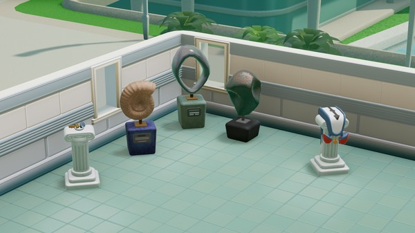 Скриншот №2 к Two Point Hospital Exhibition Items Pack