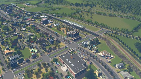 Скриншот №4 к Cities Skylines - Sunset Harbor