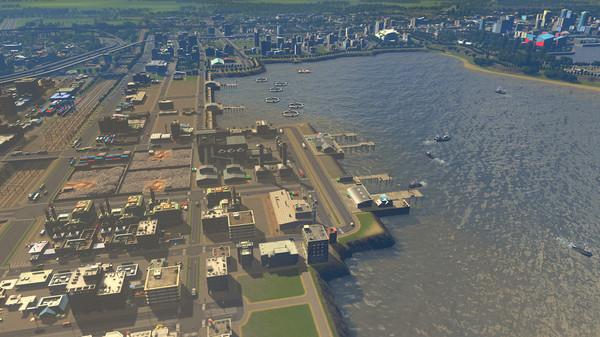 Скриншот №9 к Cities Skylines - Sunset Harbor