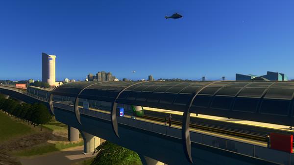 Скриншот №5 к Cities Skylines - Sunset Harbor