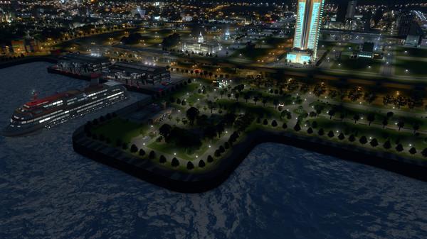 Скриншот №1 к Cities Skylines - Sunset Harbor