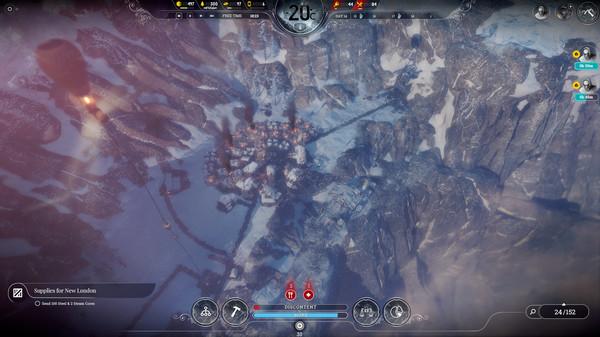 Скриншот №1 к Frostpunk On The Edge
