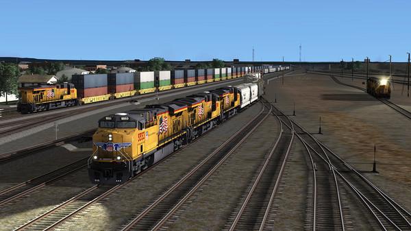 скриншот Train Simulator: Battle For Sherman Hill Add-On 1