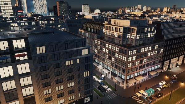Скриншот №9 к Cities Skylines - Content Creator Pack Modern City Center