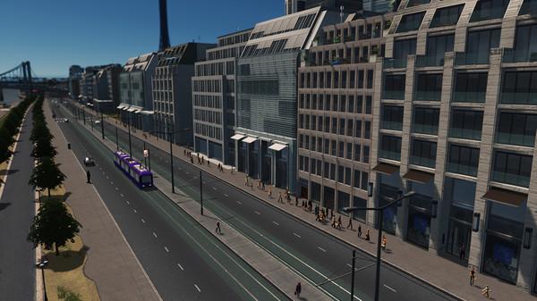 Скриншот №5 к Cities Skylines - Content Creator Pack Modern City Center