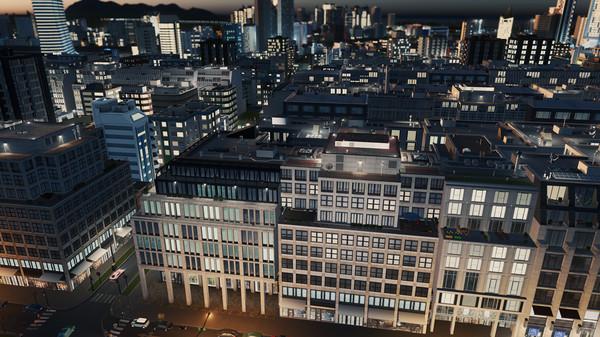 Скриншот №4 к Cities Skylines - Content Creator Pack Modern City Center