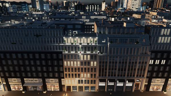 Скриншот №10 к Cities Skylines - Content Creator Pack Modern City Center