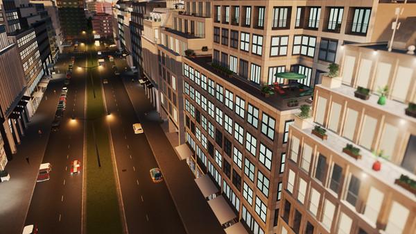 Скриншот №6 к Cities Skylines - Content Creator Pack Modern City Center