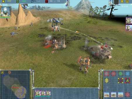скриншот Maelstrom: The Battle for Earth Begins 1