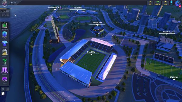 Blackout Rugby screenshot