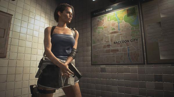 Скриншот №3 к RESIDENT EVIL 3 - Набор классических костюмов