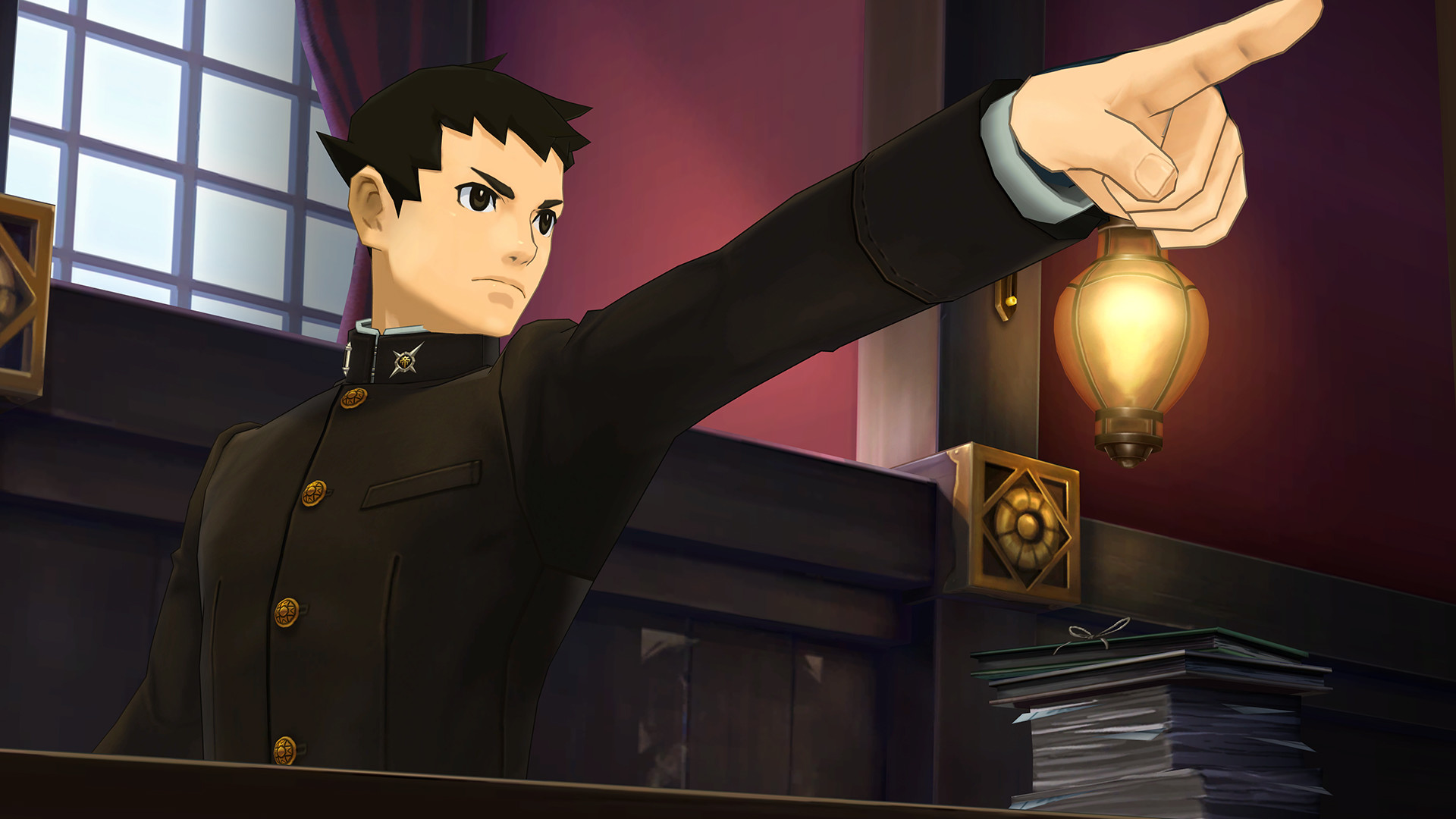 The Great Ace Attorney Chronicles cracked