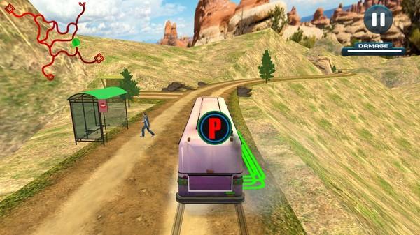 Village Bus Driver Simulator screenshot