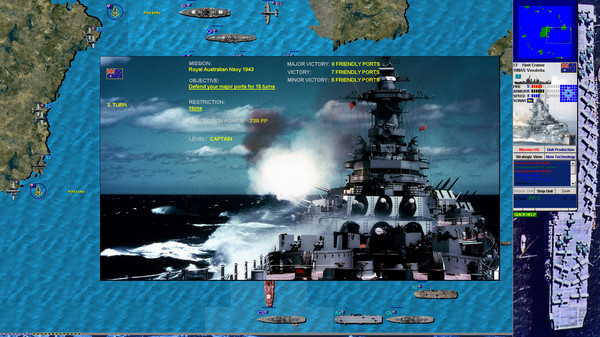 Battleships and Carriers - Pacific War screenshot