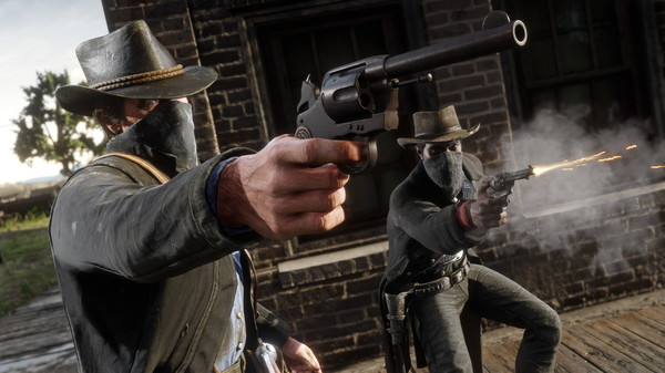 Red Dead Redemption 2 (RDR 2) скриншот