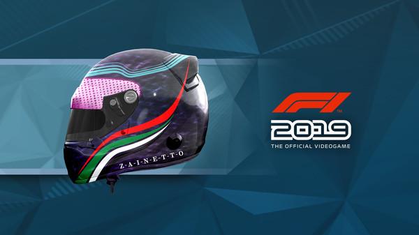 Скриншот №1 к F1 2019 Helmet Abu Dhabi Grand Prix