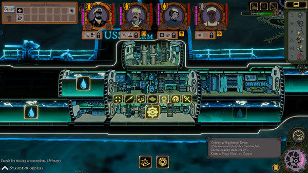 Screenshot of Stirring Abyss