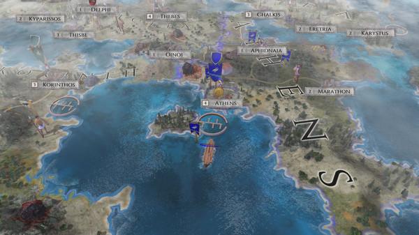 Screenshot of Imperiums: Greek Wars