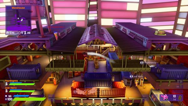 Скриншот №2 к Worms Rumble