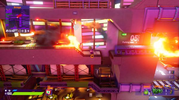 Скриншот №7 к Worms Rumble