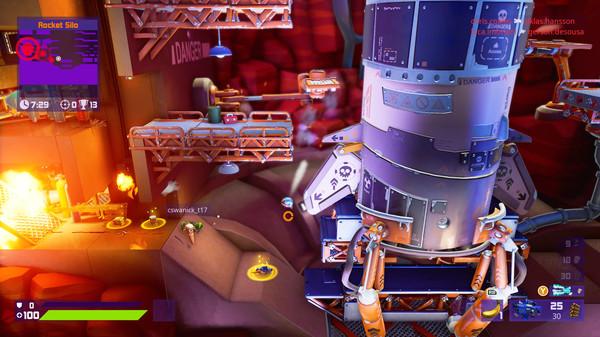 Скриншот №1 к Worms Rumble