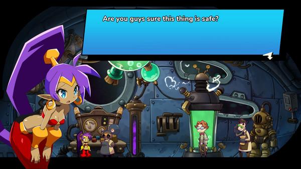 Shantae and the Seven Sirens скриншот