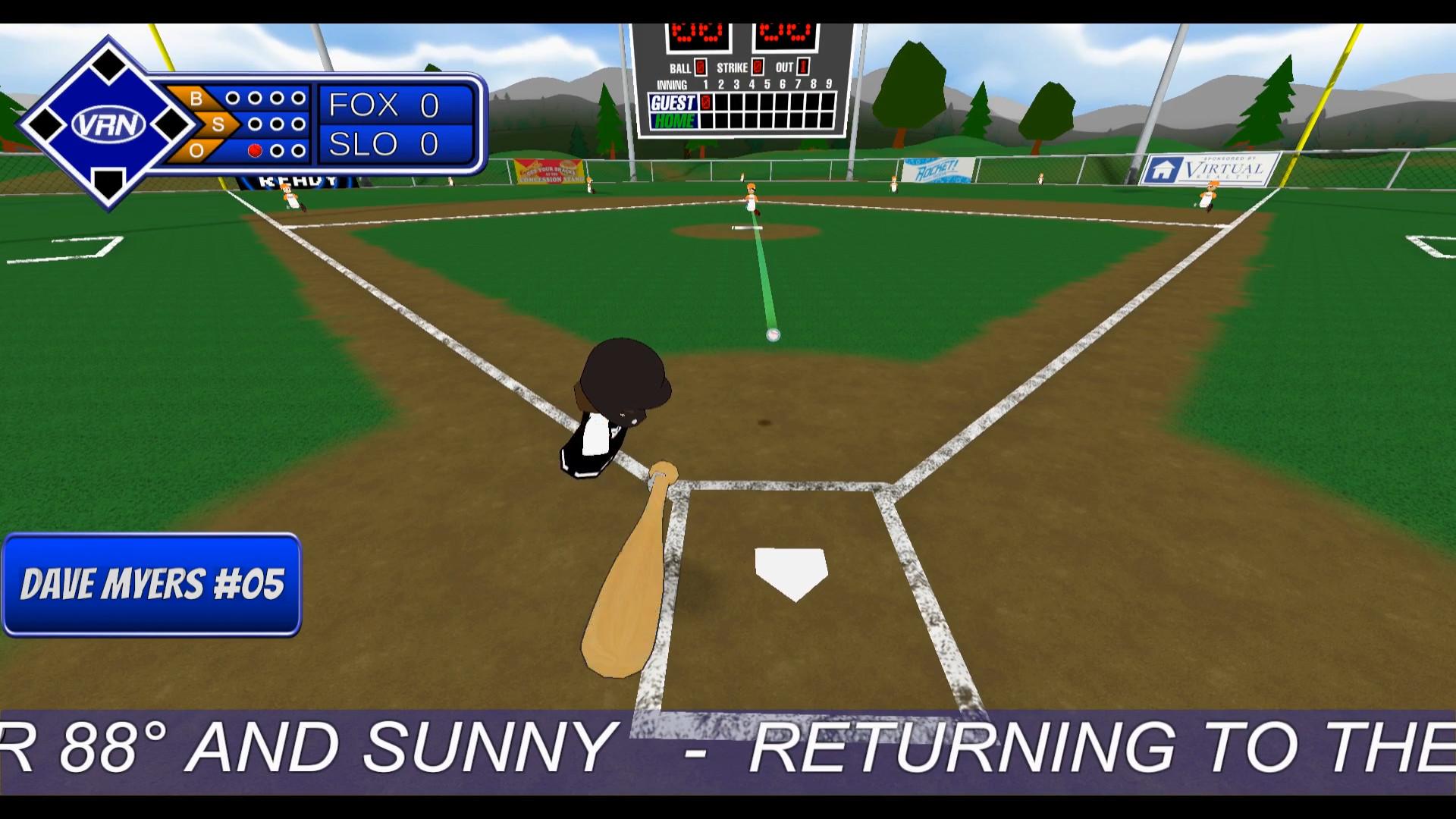 Oculus Quest 游戏《TOTALLY BASEBALL》完美棒球插图