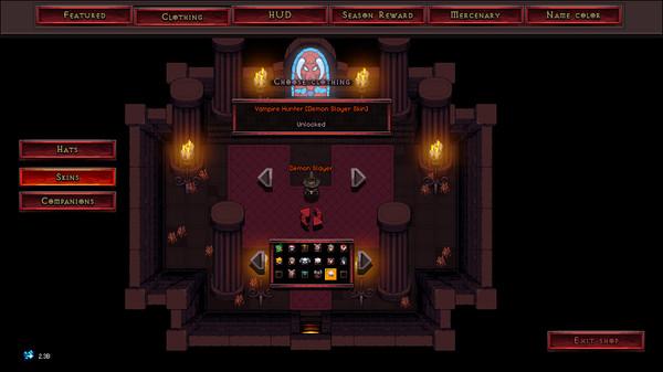 Скриншот №1 к Hero Siege - Vampire Hunter Skin