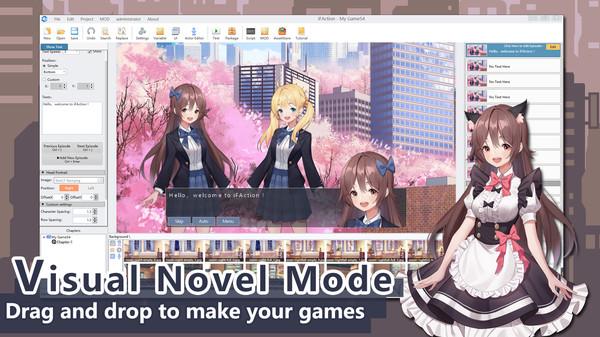 Скриншот №2 к iFAction游戏制作工具