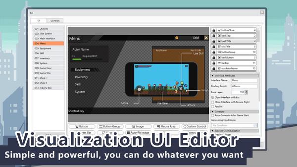 Скриншот №3 к iFAction游戏制作工具
