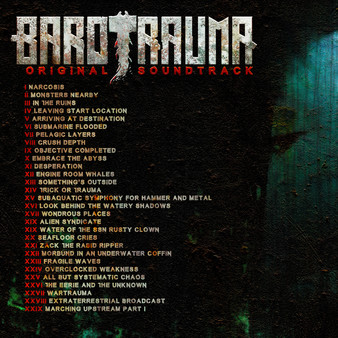 Скриншот №2 к Barotrauma - Soundtrack