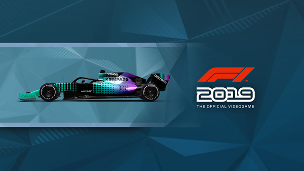 Скриншот №1 к F1 2019 Car Livery KOMPASS - Dot