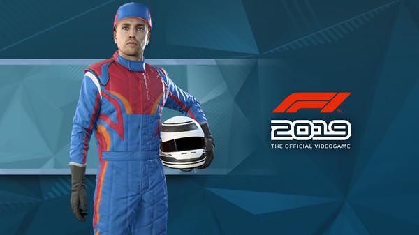 Скриншот №1 к F1 2019 Suit Turbo Blue
