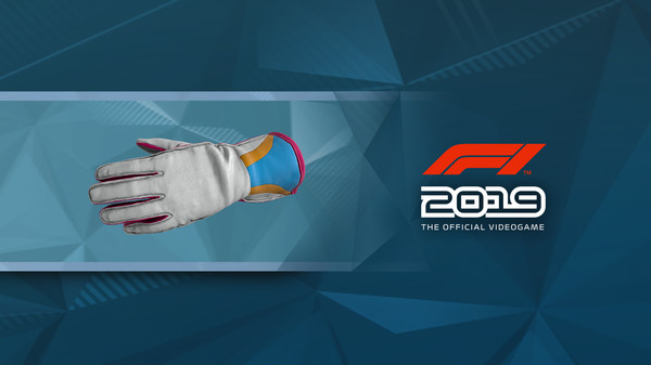 Скриншот №1 к F1 2019 Gloves Turbo Blue