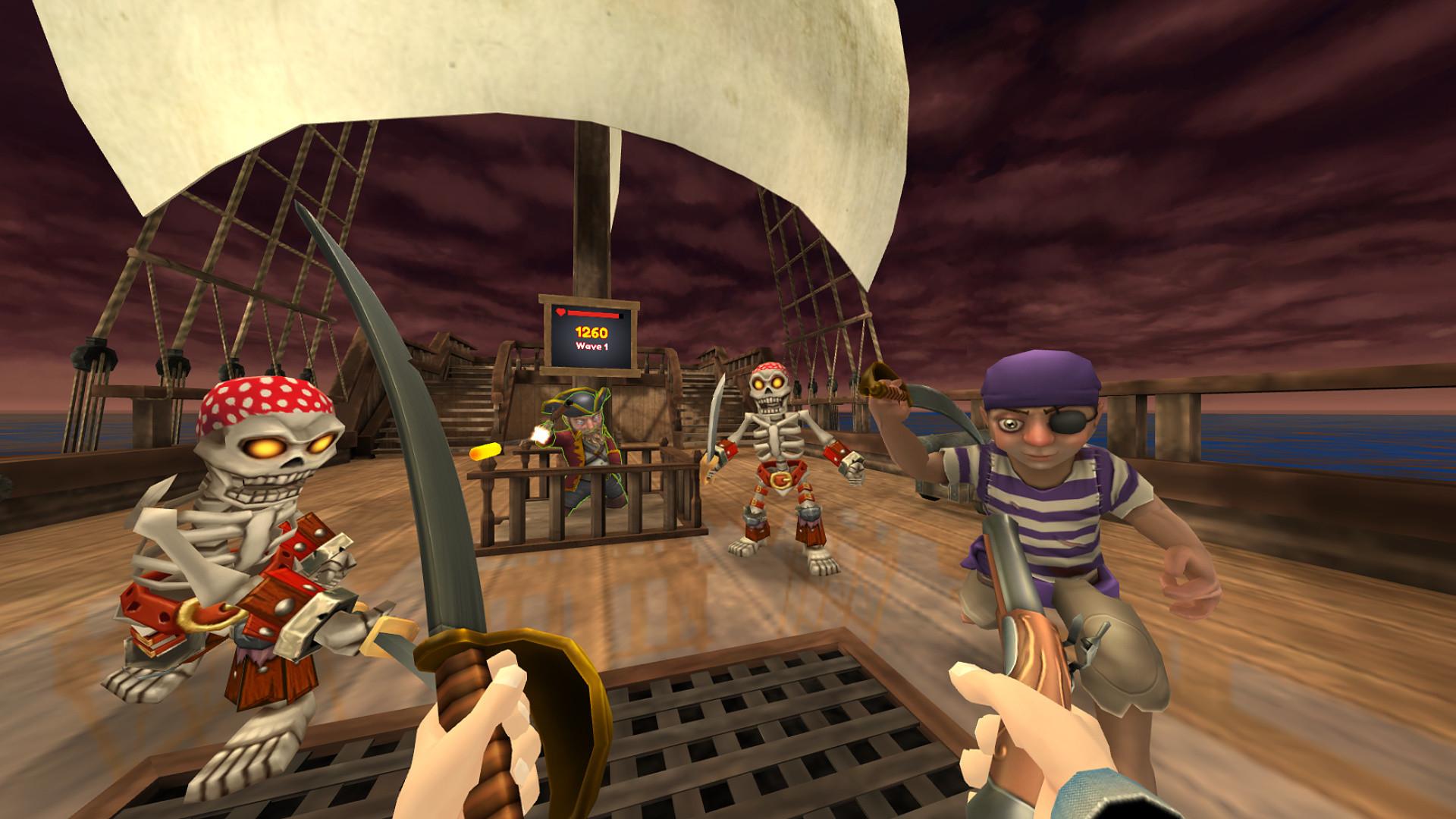 Oculus Quest 游戏《Pirates on Deck VR》甲板上的海盗插图(1)
