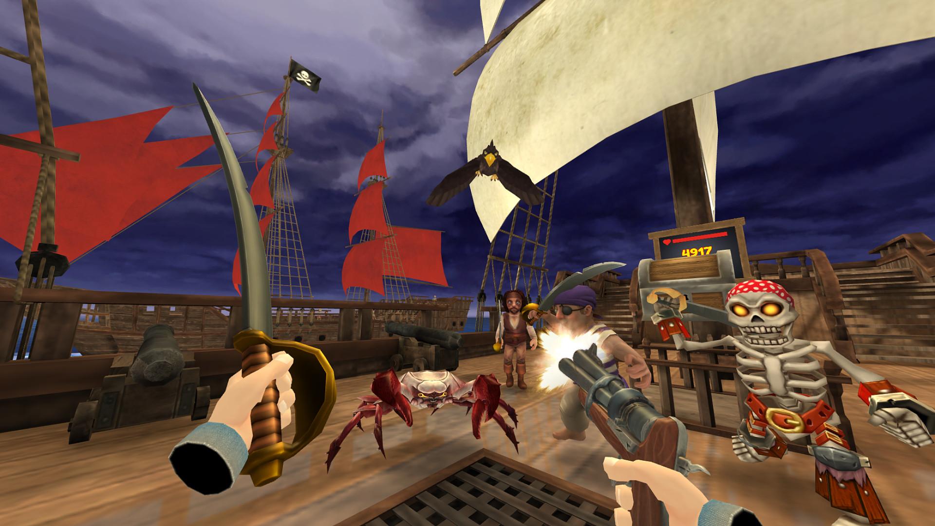 Oculus Quest 游戏《Pirates on Deck VR》甲板上的海盗插图