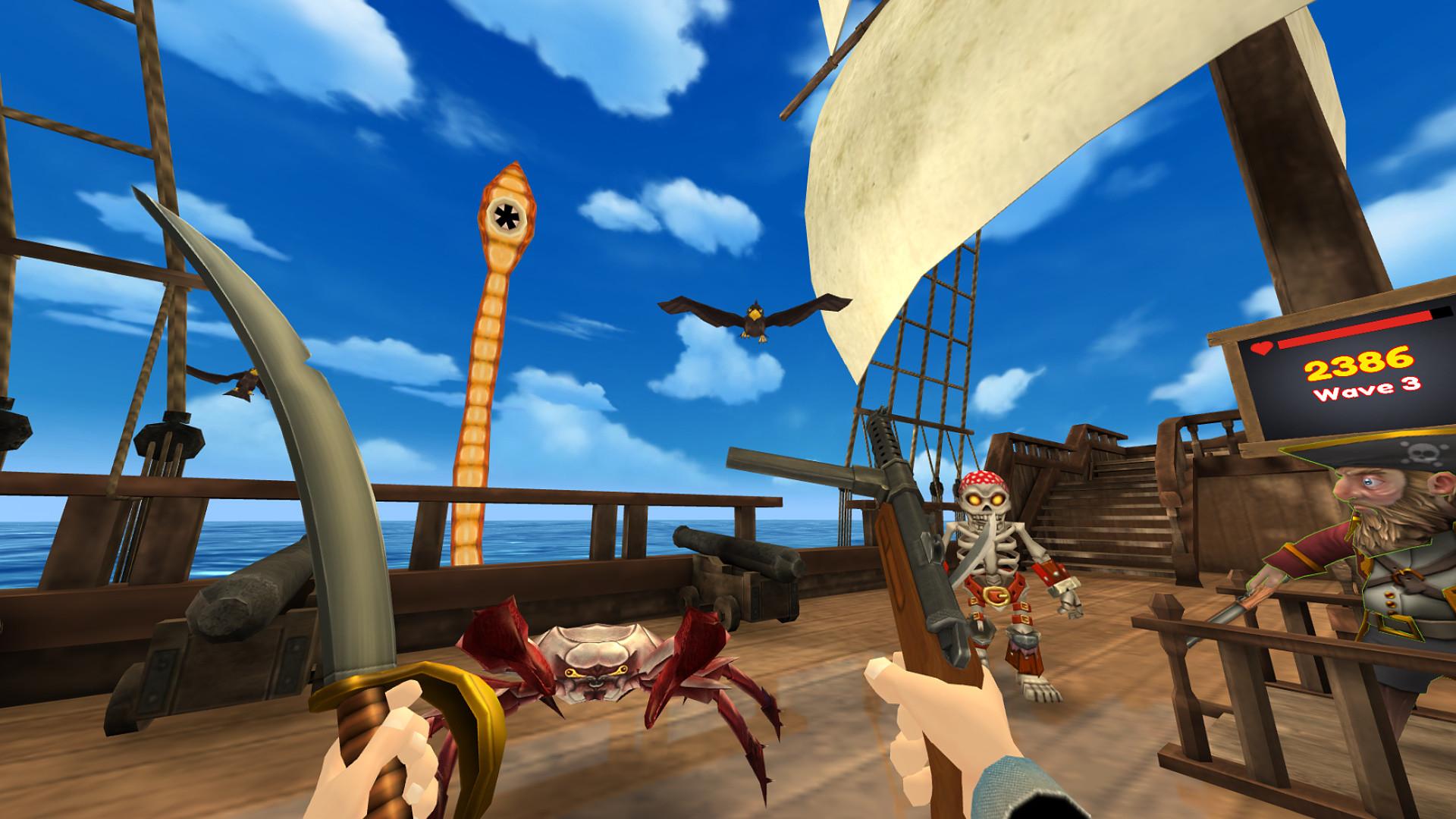 Oculus Quest 游戏《Pirates on Deck VR》甲板上的海盗插图(2)