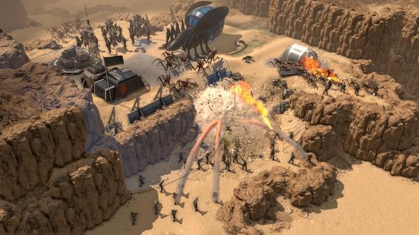 Скриншот №1 к Starship Troopers - Terran Command