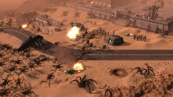 Скриншот №2 к Starship Troopers - Terran Command
