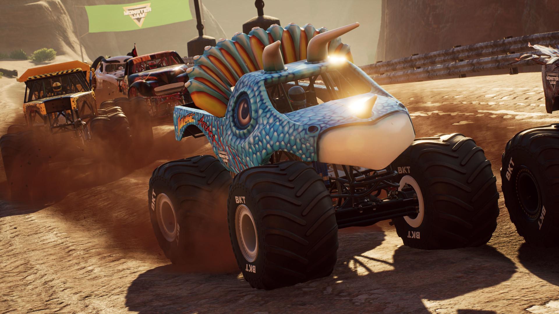 Caminhão Jurassic Attack do Monster Jam