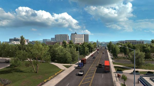 Скриншот №1 к American Truck Simulator - Idaho