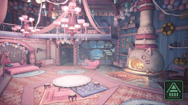 Скриншот №1 к Monster Hunter World Iceborne - Украшение комнаты MHWI Милый набор украшений