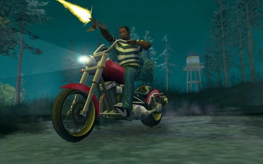 Скриншот №3 к Grand Theft Auto San Andreas