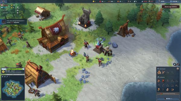 Скриншот №5 к Northgard - Himminbrjotir Clan of the Ox