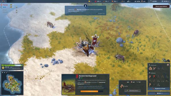 Скриншот №3 к Northgard - Himminbrjotir Clan of the Ox