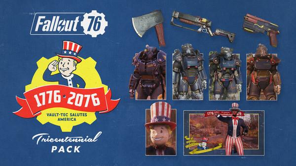 Скриншот №1 к Fallout 76 Tricentennial Pack